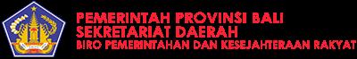 Biro Pemerintahan dan Kesejahteraan Rakyat Setda Provinsi bali